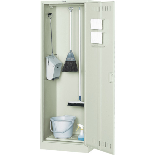 TRUSCO 掃除用具ケース ワイド型 W608XD515XH1790(CL13W)