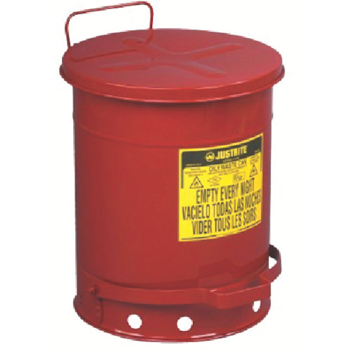 ジャストライト オイリーウエスト缶 10ガロン(J09300)