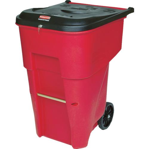 ラバーメイド ブルートロールアウトコンテナ 医療廃棄物用 359.6L レッド(9W2005)
