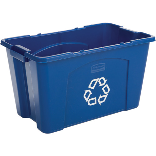 ラバーメイド リサイクルボックス ブルー(57187365)