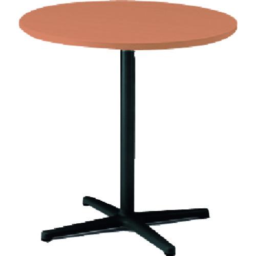 (TLL06C7JTT)【(株)イトーキ】 ノットワークカフェテーブル円型 天板トリニティオーク・脚サテンブラック イトーキ