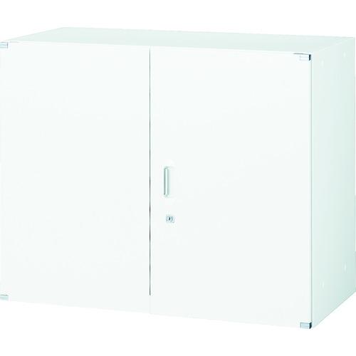 TRUSCO ユニット型壁面書庫 D400 両開き H720 W色 (UFHW7)【トラスコ中山(株)】