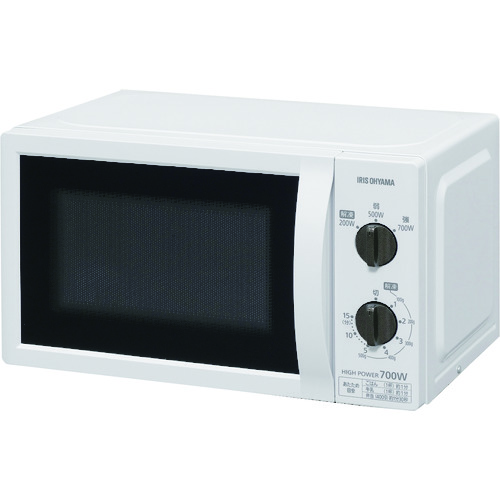 IRIS 509210単機能レンジ 17L ターンテーブル 50Hz (IMBT1765)