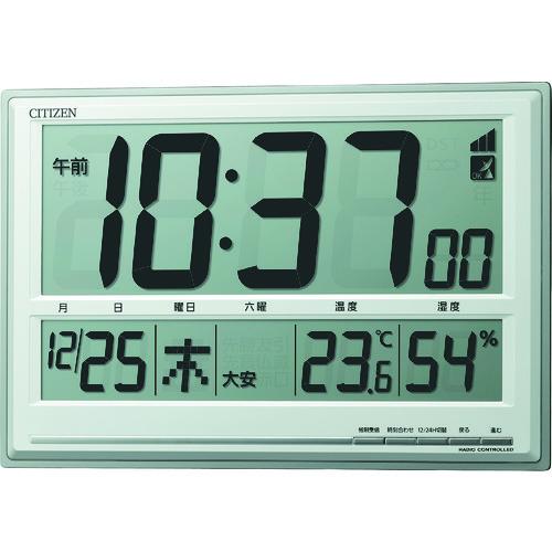 シチズン 電波時計(掛置兼用) (8RZ199019)