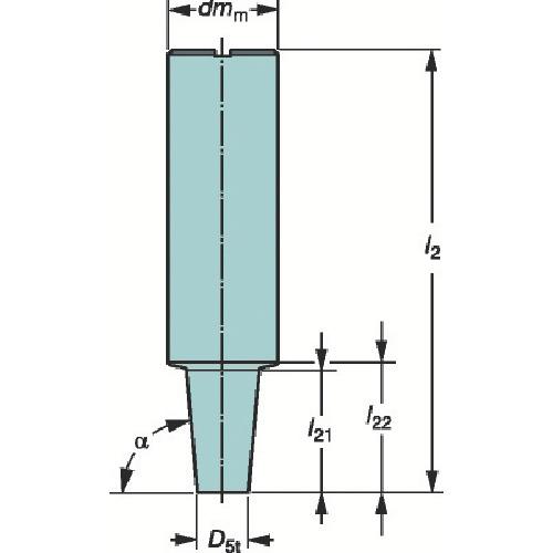 サンドビック コロミルEH円筒シャンクホルダ(E25A32CS200)