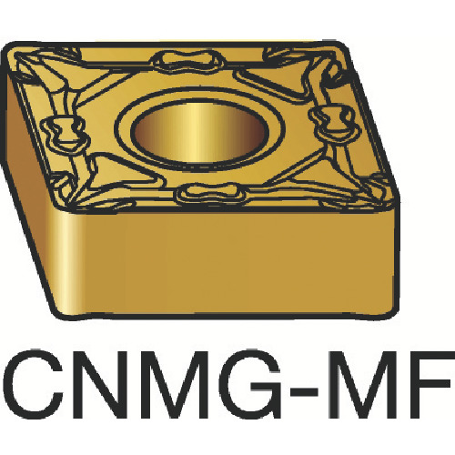サンドビック T-Max P 旋削用ネガ・チップ 4235 COAT(CNMG120404MF)