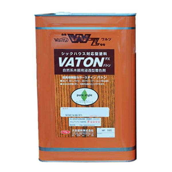 VATON FX バトン #505 グレー 16L【大谷塗料株式会社】