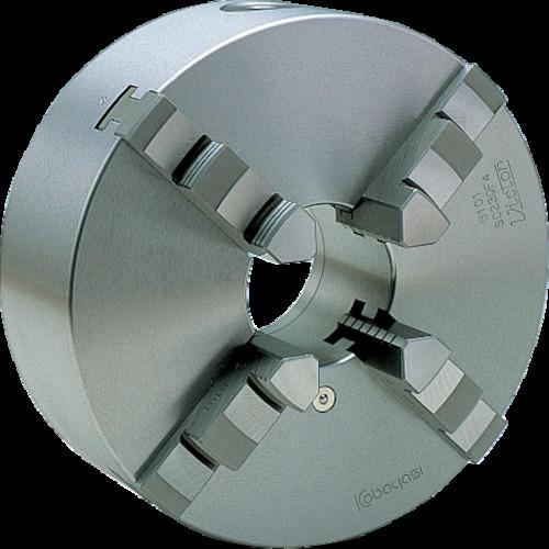 ビクター スクロールチャック SC130F4 5インチ 4爪 一体爪(SC130F4)