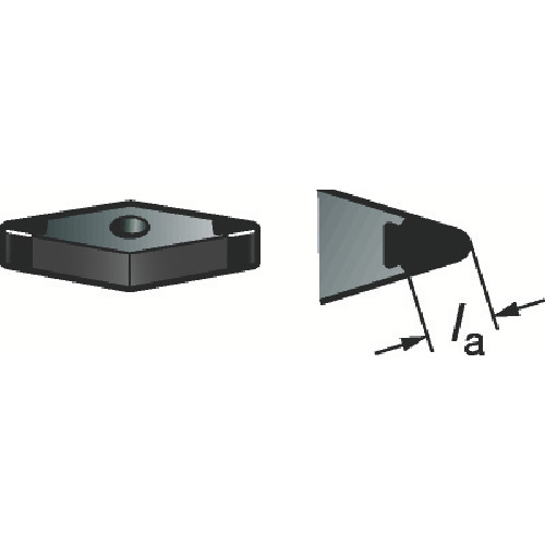サンドビック T-Max 旋削用セラミックチップ 6050 セラミッ(VNGA160404S01525)