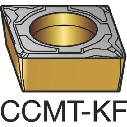 サンドビック コロターン107 旋削用ポジ・チップ H13A 超硬(CCMT120404KF)