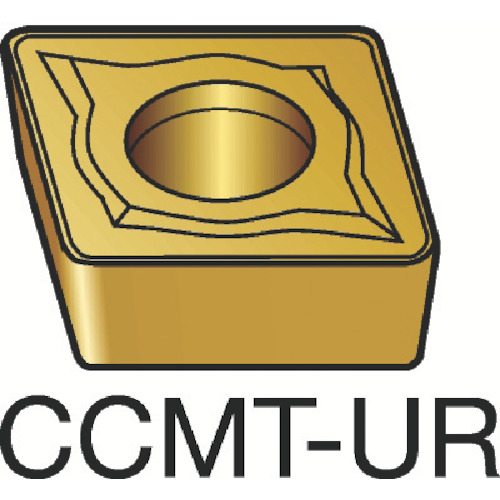 サンドビック コロターン107 旋削用ポジ・チップ 4215 COAT(CCMT09T308UR)