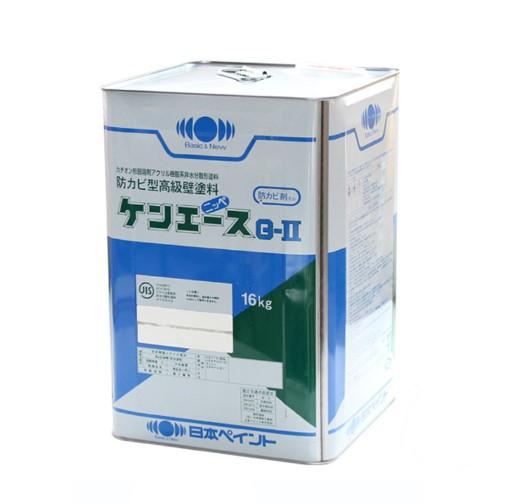ケンエースG2 黒 16K ブラック カチオン形 NADアクリル樹脂塗料 【日本ペイント】