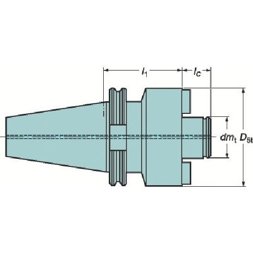 サンドビック 大径フェースミルホルダ(A2F055060080)