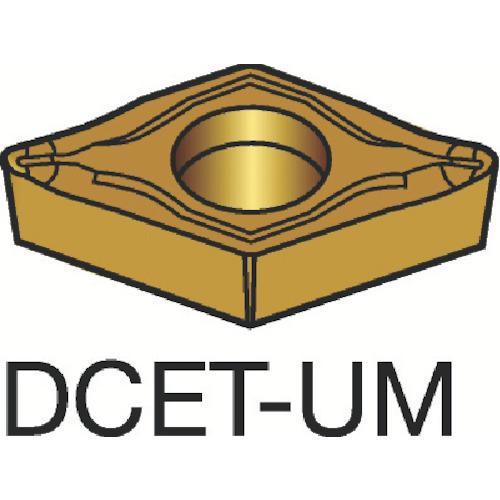 サンドビック コロターン107 旋削用ポジ・チップ 1105 COAT(DCET070201UM)