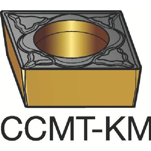 サンドビック コロターン107 旋削用ポジ・チップ H13A 超硬(CCMT120408KM)