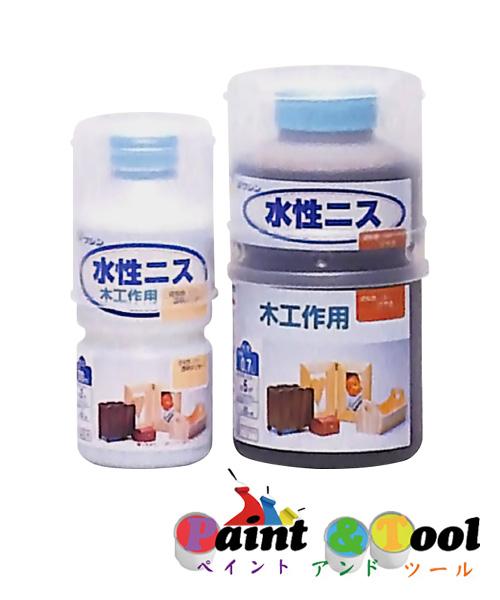 和信ペイント 水性ニス 0.7L 同色6缶セット 【和信ペイント】