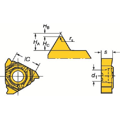 最安値で  サンドビック コロスレッド266 ねじ切りCBNチップ(266RL16VM01A002EE):ペイントアンドツール-DIY・工具