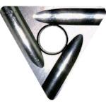 富士元 ショルダー加工用Tタイプ精密級チップ 超硬M種 TiAlN COAT(T33GUR)