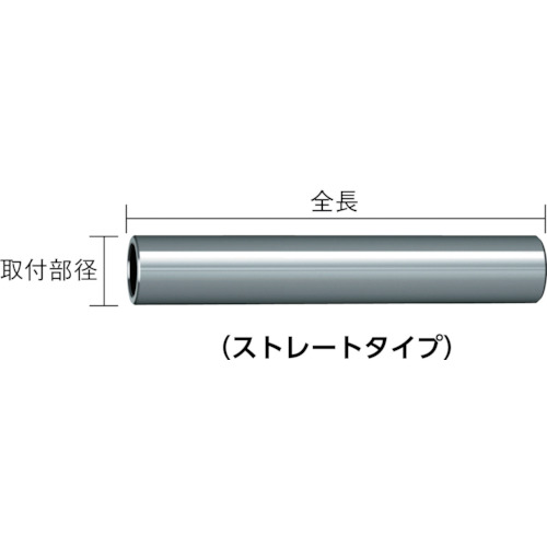 三菱 ヘッド交換式エンドミル 超硬ホルダ(IMX12S12L130C)