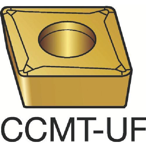 サンドビック コロターン107 旋削用ポジ・チップ 1125 COAT(CCMT09T302UF)