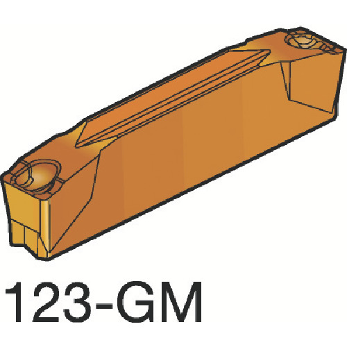 サンドビック コロカット2 突切り・溝入れチップ 1145 COAT(N123G203000003GM)
