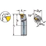 サンドビック T-Max U-ロック ねじ切りボーリングバイト(R166.4KF20F16)