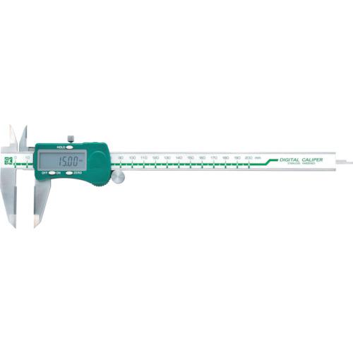 SK デジタル超硬チップ付ノギス(D200W)
