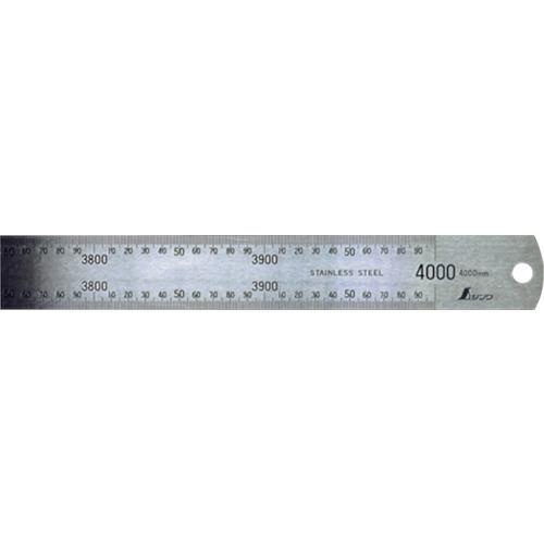 シンワ 直尺 ステン4000mm(14087)