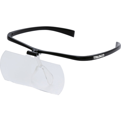 TRUSCO 双眼メガネルーペ1.6/2/2.3倍セット フレーム黒(TSMSETBK)