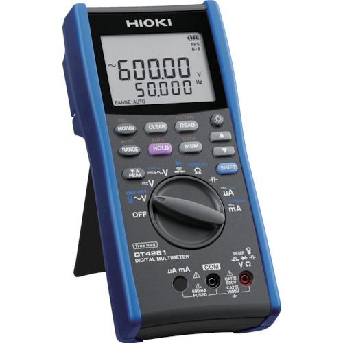 HIOKI デジタルマルチメータ ブランド激安セール会場 A端子なし 激安セール DT4281