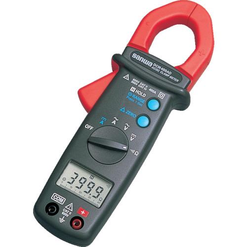 SANWA DC/AC両用デジタルクランプメータ(DCM400AD)