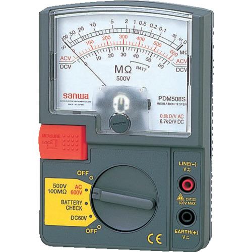 SANWA アナログ絶縁抵抗計 600V(PDM509S)