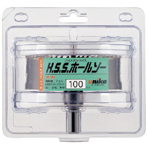 ユニカ HSS ハイスホールソー100mm(HSS100)