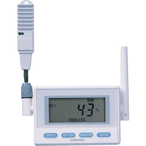 CHINO 監視機能付無線ロガー 送信器 温湿度センサ 専用バッテリ・直付け(MD8202N00)