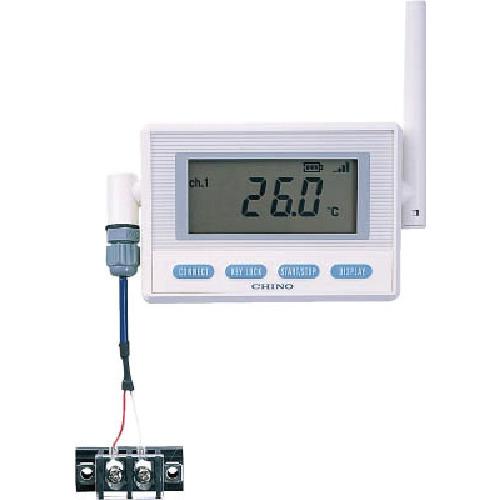 CHINO 温湿度センサ熱電対モデル(専用バッテリ・T熱電対)(MD8203T00)