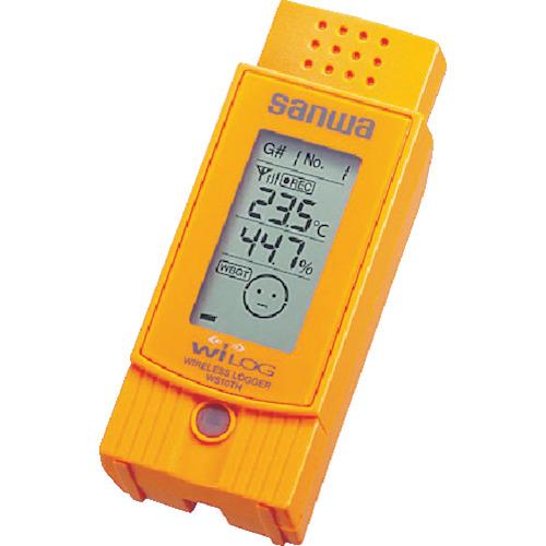 SANWA ワイヤレス温湿度ロガー(WS10TH)