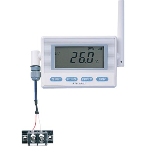 CHINO 監視機能付無線ロガー 送信器 温度センサ熱電対 AC電源 K熱電対(MD8103K00)