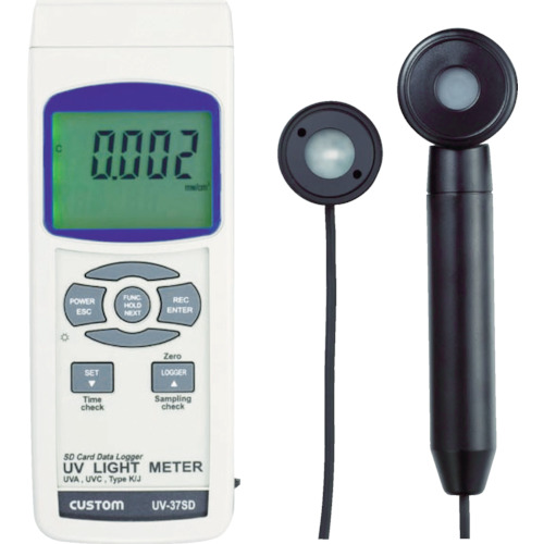 カスタム 紫外線強度計(UV37SD)