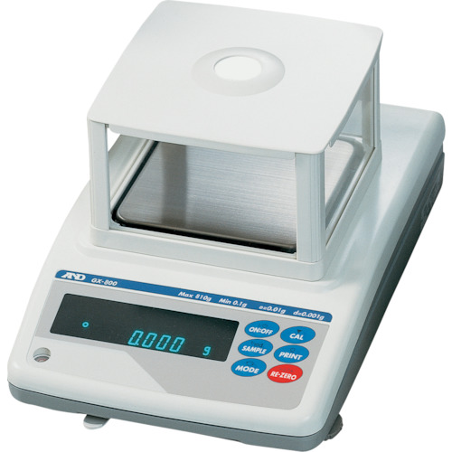 A&D 分銅内蔵汎用電子天びん0.001G/810G(GX800)