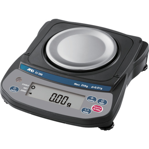 A&D コンパクト電子天びん 0.01G/210G(EJ200)