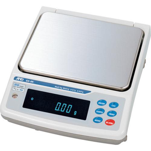A&D 汎用電子天びん校正用分銅内蔵0.01g/8.1kg(GX8K)