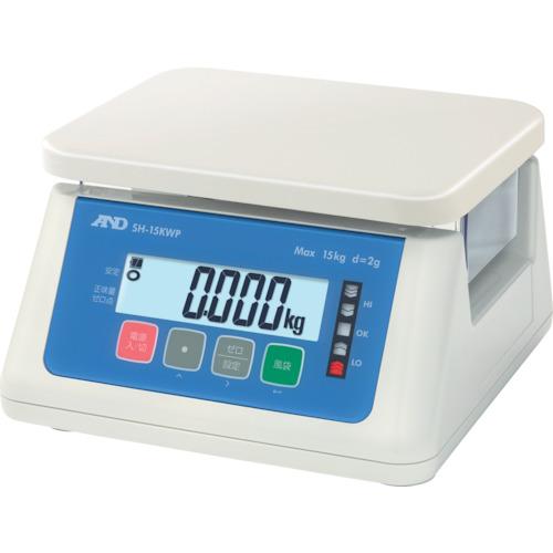 A&D デジタル防水はかり 15Kg(SH15KWP)