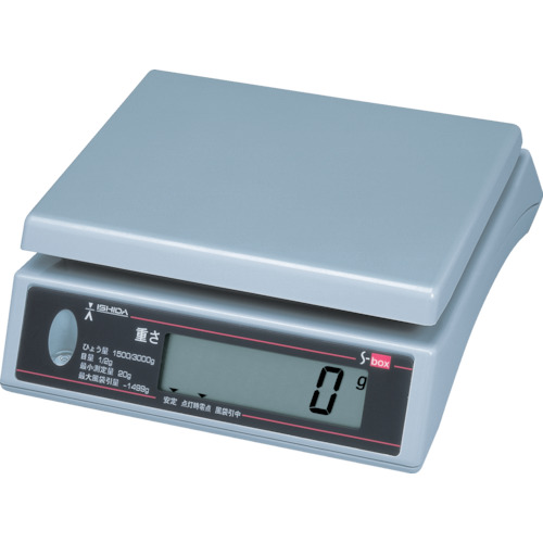 イシダ 上皿型重量ハカリ(SBOX3)
