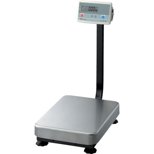 A&D デジタル台はかりポール付き計量皿寸法390×530mm(FG150KAL)
