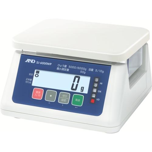 A&D 取引・証明用(検定済品)防塵・防水デジタルはかり(SJ6000WP)