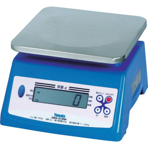 ヤマト 防水形デジタル式上皿自動はかり UDS-210W-10K(UDS210W10K)