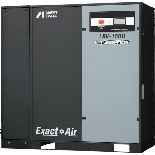 アネスト岩田 給油式スクリューコンプレッサD付きインバータ15kW(LRV150D)