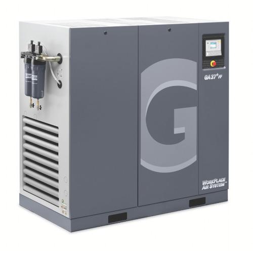 アトラスコプコ GAシリーズコンプレッサ50HZ37KWドライヤ付(GA37FFA7.520050)