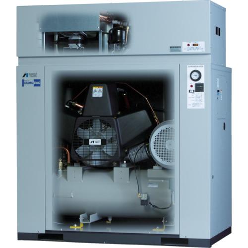 アネスト岩田 オイルフリーコンプレッサ 0.75KW 単相100V 50Hz(CFP07C8.5DC5)