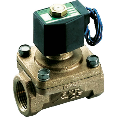 CKD パイロット式2ポート電磁弁(マルチレックスバルブ)(AP1120AC4AAC100V)